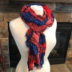 New! Loft stunning multi-color scarf